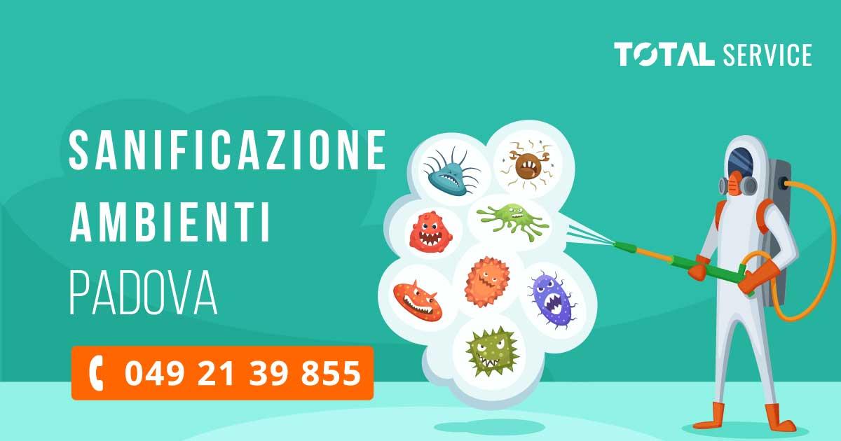 Sanificazione Ambienti Padova